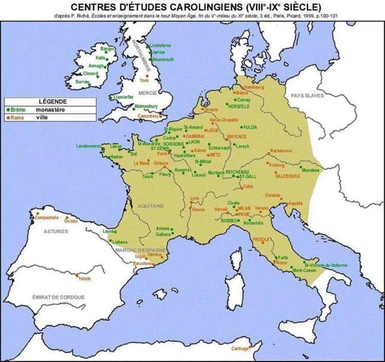 L'administration carolingienne au IX ème siècle