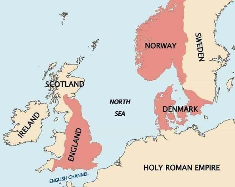 Le royaume scandinave de Knud le Grand
