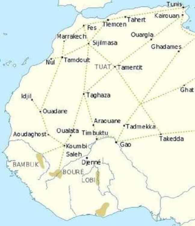 le commerce transsaharien