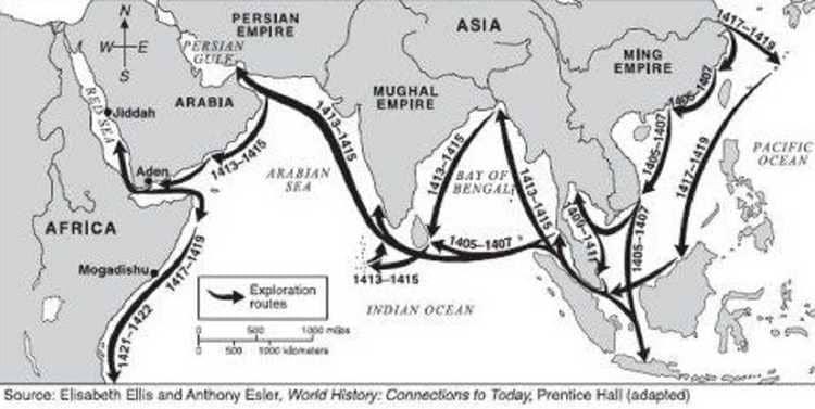 Les voyages de Zheng He