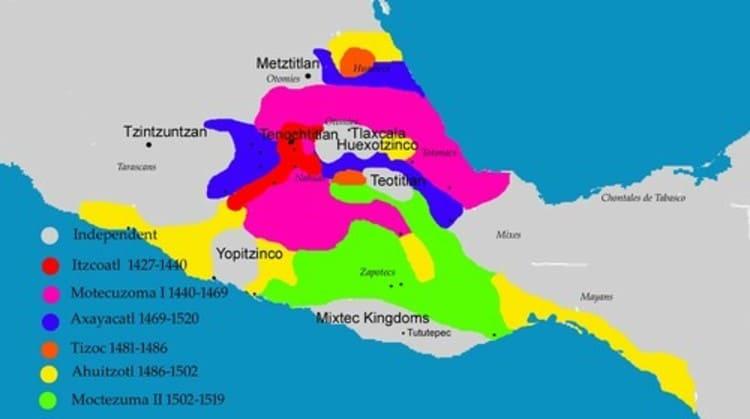 L'expansion territoriale aztèque