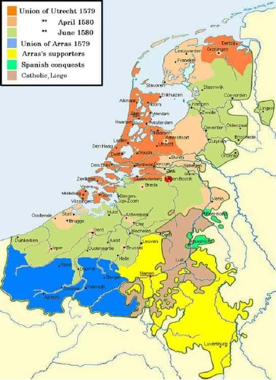 Les Unions d'Arras et d'Utrecht