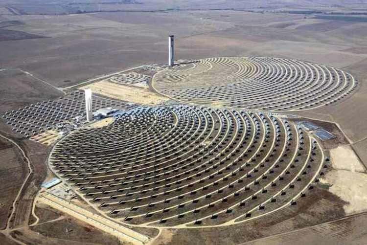 Les centrales solaires espagnoles PS10 et PS20