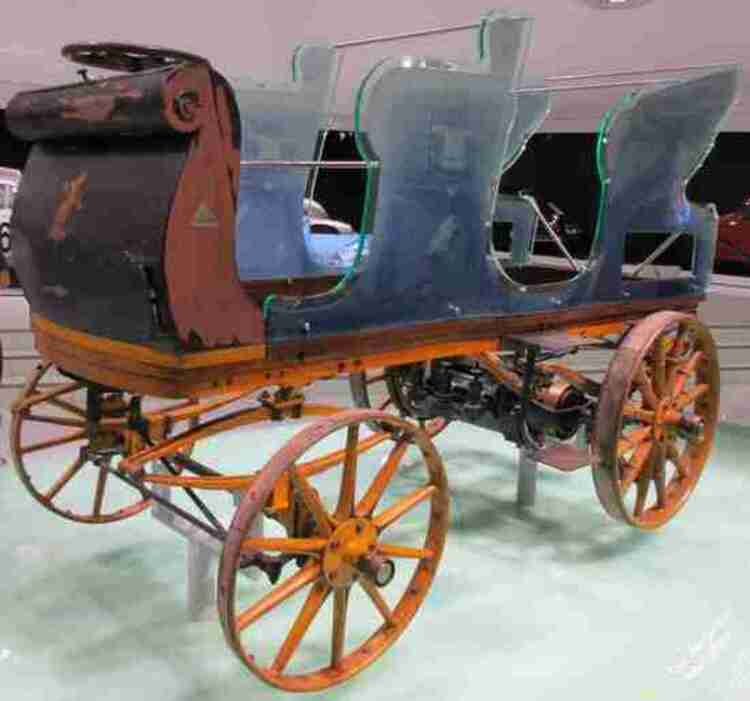 Egger-Lohner C2 Phaeton, dite Porsche P1, 1898